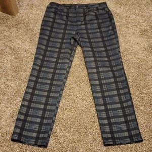 Gloria Vanderbilt Plaid Dress Pants